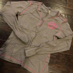 Zumba long sleeve workout shirt